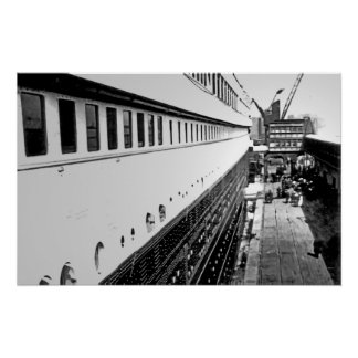 RMS Titanic:  Passengers Embark Poster