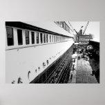 RMS Titanic:  Passengers Embark Print