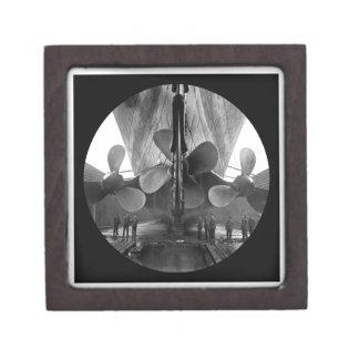 RMS Titanic Propeller Blades Gift Box