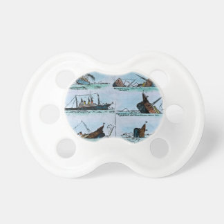 RMS Titanic Sinking Magic Lantern Slide Pacifier