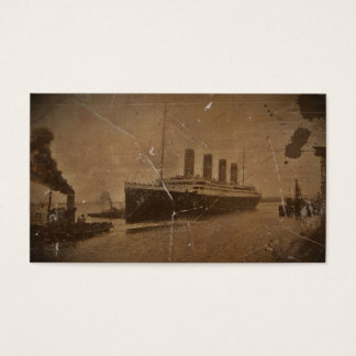RMS Titanic Southampton Business Card