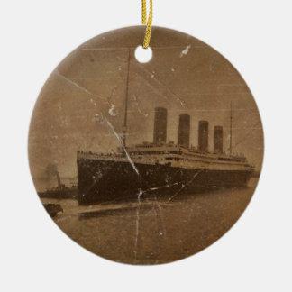 RMS Titanic Southampton Ceramic Ornament