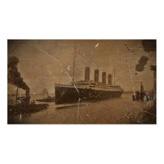 RMS Titanic Southhampton Business Card