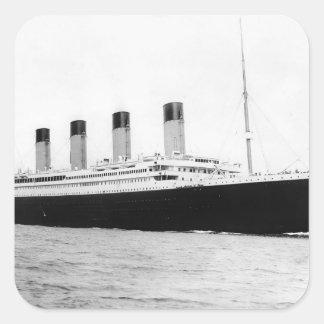 RMS Titanic Square Sticker