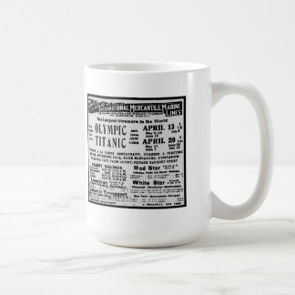 RMS TITANIC Steam Ship Commemorative Mug