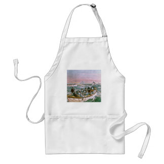 RMS Titanic Survivors in Lifeboats Next Morning Adult Apron