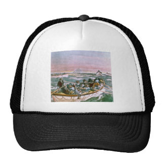 RMS Titanic Survivors in Lifeboats Next Morning Trucker Hat