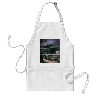 RMS Titanic Survivors in the Lifeboats Vintage Adult Apron