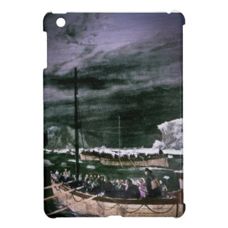 RMS Titanic Survivors in the Lifeboats Vintage iPad Mini Covers