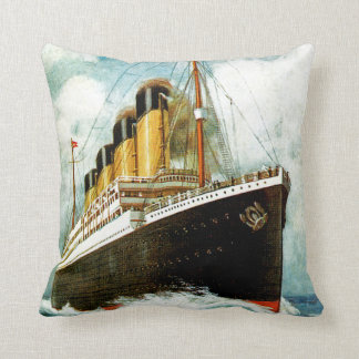 RMS Titanic Throw Pillow