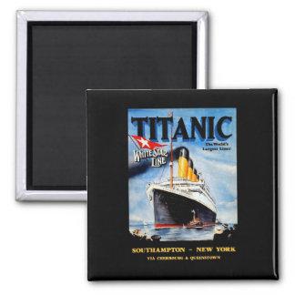 RMS Titanic Travel Ad Magnet