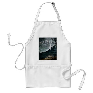 RMS Titanic Under the Sea and Icebergs Vintage Adult Apron