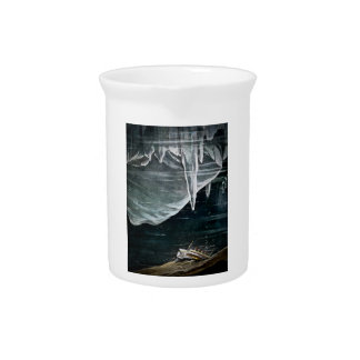 RMS Titanic Under the Sea and Icebergs Vintage Pitcher