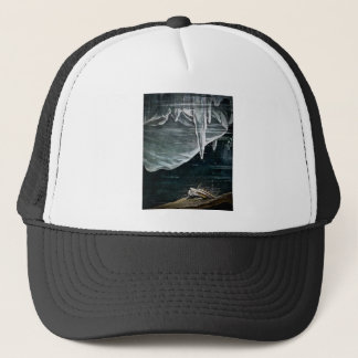 RMS Titanic Under the Sea and Icebergs Vintage Trucker Hat