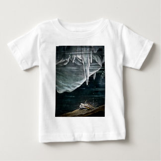 RMS Titanic Under the Sea and Icebergs Vintage Infant T-shirt
