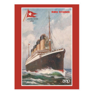 RMS Titanic White Star Line Postcards
