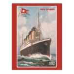 RMS Titanic White Star Line Postcards