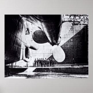 RMS titánico:  Aliste a Lauch Impresiones