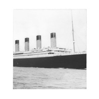 RMS titánico Blocs De Papel