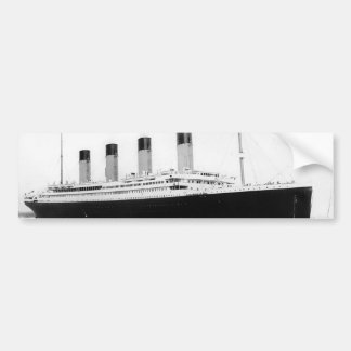 RMS titánico Etiqueta De Parachoque