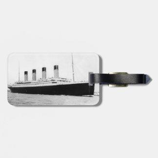 RMS titánico Etiquetas Maleta