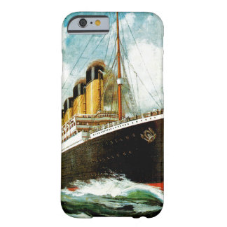 RMS titánico Funda De iPhone 6 Barely There
