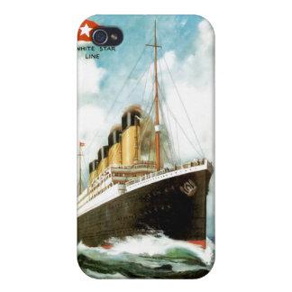 RMS titánico iPhone 4 Carcasas