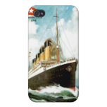 RMS titánico iPhone 4 Protectores