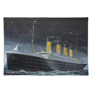 RMS titánico Manteles Individuales