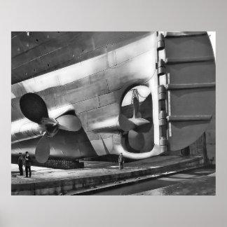 RMS titánico Poster