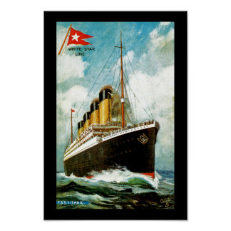 RMS titánico Posters