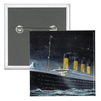 RMS titánico Pin Cuadrada 5 Cm