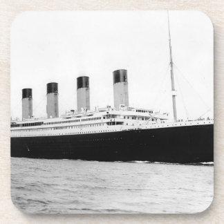 RMS titánico Posavasos