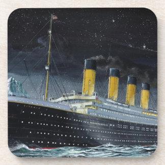 RMS titánico Posavasos De Bebidas