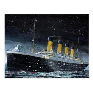 RMS titánico Postal
