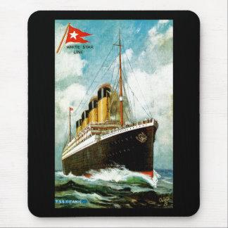 RMS titánico Tapete De Raton