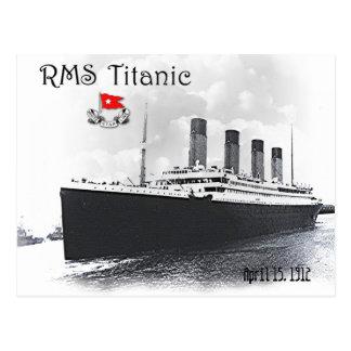 RMS titánico Tarjeta Postal