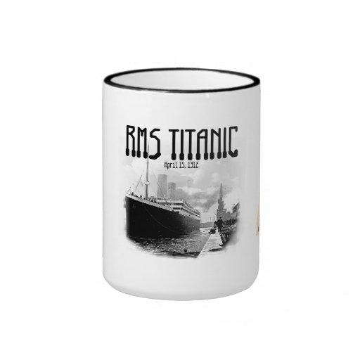 RMS titánico Tazas