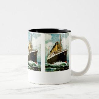 RMS titánico Tazas De Café