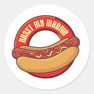rmw.com classic round sticker