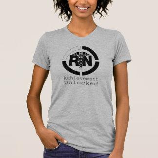 RN Achievement Unlocked Nursing T-Shirt