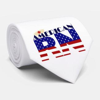 RN americano Corbata Personalizada