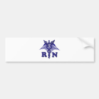 RN Angel Bumper Sticker