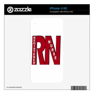 RN BIG RED iPhone 4 DECAL