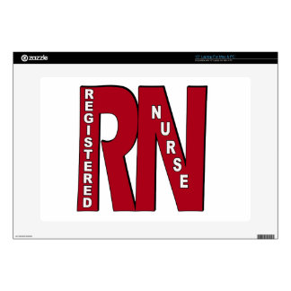 RN BIG RED LAPTOP DECAL