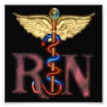 RN Caduceus Photo Print