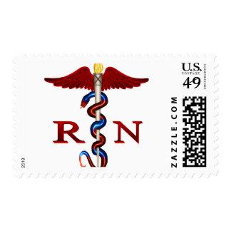 RN Caduceus Stamps