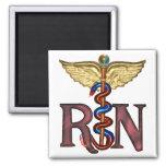 RN Caduceus Refrigerator Magnet