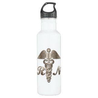 RN Caduceus Water Bottle