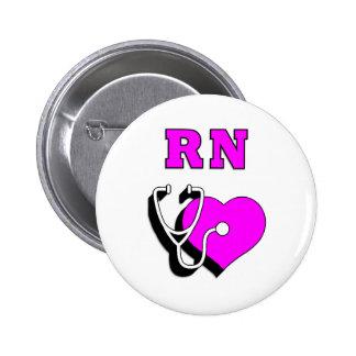 RN Care Pinback Button